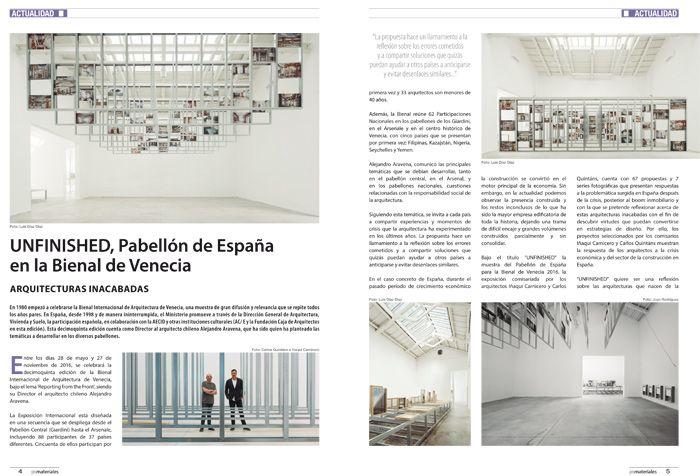 Unfinished pabell n de espa a en la bienal de venecia for Oficinas bbva palma de mallorca