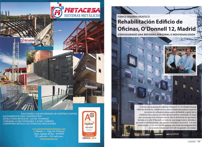Rehabilitaci n edificio de oficinas o donnell 12 madrid for Oficinas ocaso