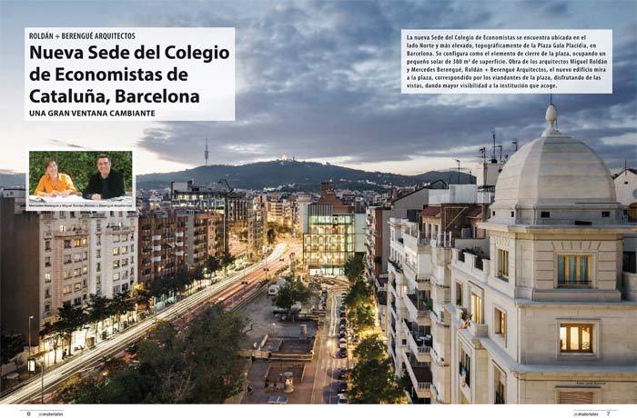 Nueva Sede del Colegio de Economistas de Cataluña, Barcelona /Roldán ...