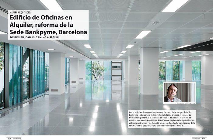 Edificio de oficinas en alquiler reforma de la sede for Alquiler oficinas badajoz