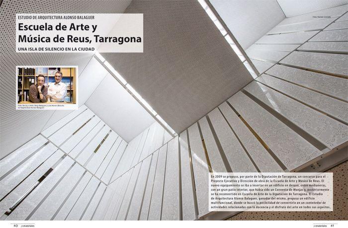 Escuela de arte y m sica de reus tarragona estudio de for Arquitectura 5 de mayo plan de estudios